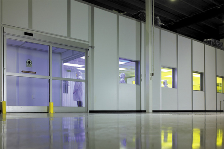 Manufactured Cleanroom